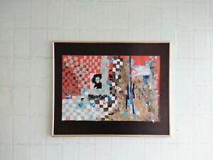 Evita  Art original collage modern art