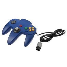 Game Controller Joystick for Nintendo 64 N64 System Deep Blue Pad Mario Kart LO