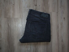 DIESEL ZATINY 0669F_STRETCH Bootcut Jeans W34 L32 SCHWARZ GRAU LEICHTES MATERIAL