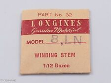Longines Genuine Material Stem Part 32 for Longines Cal. 8LN