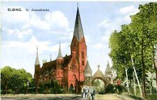 uralte AK, Elbling (Elbląg), St. Annenkirche, Feldpost