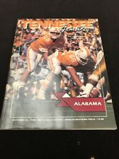 1988 Tennessee VOLS Sports Guide (vintage)Tn Vs Alabama
