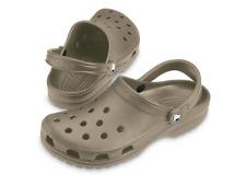 Crocs Uomo Classic altezza Caviglia gomma Sandali cachi 7m
