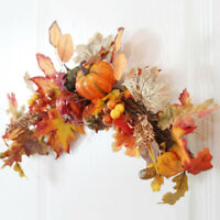 Home Decorative Artificial Pineone Fall Autumn Maple Leaves Holiday Decorations
