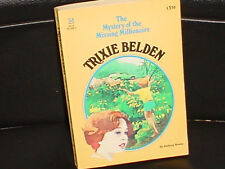 TRIXIE BELDEN * NO 34 * MYSTERY OF THE MISSING MILLIONAIRE * KATHRYN KENNY 1980