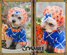 JoJo's Bizarre Adventure Guido Mista Cosplay Dog Cat Clothes Hat Pet Costume