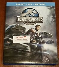 Jurassic World Blue Ray & DVD Target Exclusive No Digital