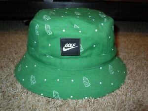 Nike Golf Praying Hands Masters Green Bucket Hat Amen Corner Size Unisex M/L NEW