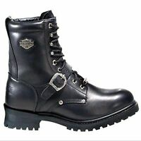 """HARLEY-DAVIDSON MEN'S MOTORCYCLE RIDING BOOTS BY WOLVERINE """"FADED GLORY"""" D91003"""