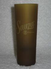 Sauza Tequila Gold Frosted Cordial Shot Glass Jigger Shooter