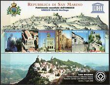 San Marino - Foglietto UNESCO, 2008 - Nuovo (** MNH)