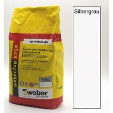 weber.fug 875 Silbergrau   Fugenmörtel   Keramik- und Natursteinfuge   2,38€/kg