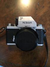 Nikon F Photomic 35mm SLR Film Camera with 50 mm lens Kit