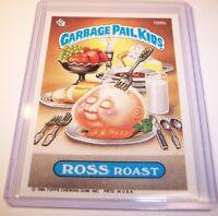 Garbage Pail Kids OS5 Ross Roast 188b Rare Blue Cross Error! **NICE CARD!** 1986