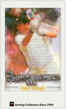 1996/97 Futera Cricket Decider Acetate Card Run Machine RM2: Steve Waugh