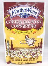 Martha White Cotton Country Buttermilk Cornbread Mix 6 oz (3 pack)
