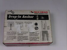 Red Head RL-14 Drop In Concrete Anchor 20-Pack ! NOP !