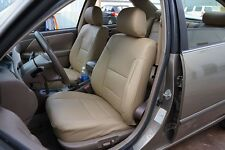 TOYOTA CAMRY 1997-2001 IGGEE S.LEATHER CUSTOM FIT SEAT COVER 13 COLORS AVAILABLE