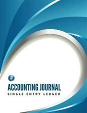 Accounting Journal, Single Entry Ledger, Brand New, Free P&P in the UK