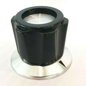 (9) NOS Heathkit Small Green Knob for HW SB Series Ham Amplifier Radios