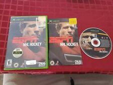 ESPN NHL Hockey (Microsoft Xbox, 2003) Complete CIB