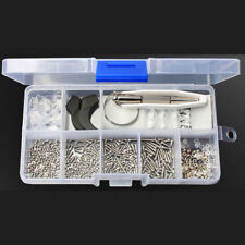 Durable Eye Glasses Repair Tool Screw Nose Pad Nut Optical Assortment Kit Set