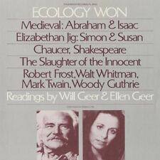 Will Geer, Will Geer - Ecology Won: Readings By Will Geer and Ellen Geer [New CD