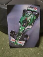 JAGUAR RACING FORMULA ONE GRAND PRIX POSTCARD  POSTCARD