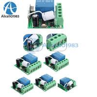 1/2/5/PCS 433MHZ DC12V 10A 1CH Wireless Relay RF Remote Control Switch Receiver