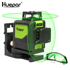 Level Laser professional Huepar 902CG 360 ​​degrees Line Cruz Laser Green