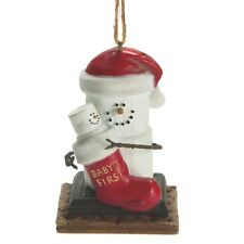 S'more's Baby's First Christmas Ornament FS USA