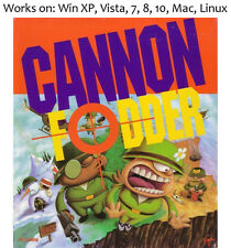 Cannon Fodder 1993 PC Mac Game