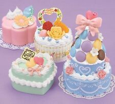 "Japanese DIY Whipple ""Macaroon Tower and Cake "" Fake Sweets Key Chain Making Kit"