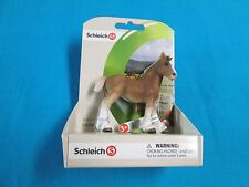 Schleich Clydesdale Foal (#136717) on Farm Life Scence (#72081)