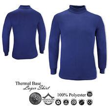 Winter Thermal Base Layer Neck Warm Motorbike Motorcycle Top Long Sleeve Shirt