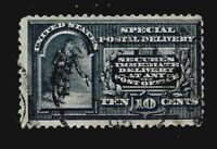 US 1888 Sc# E 2  10 c Special Delivery USED  - Crisp Color