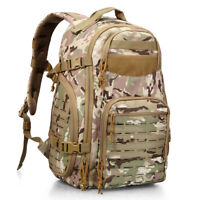 Tactical Molle Backpack 3 Day Assault Packs Army Military Rucksack Bug Out Bags