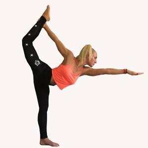 DBXGEAR Ladies Tights Tiger Print Yoga Fitness Running Exercise Leggings