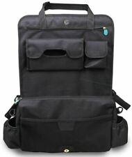 Apramo MULTI POCKETS BACK SEAT ORGANISER - BLACK Car Seat Travel Accessory BN