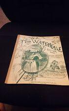 THE WATERFALL VINTAGE SHEET MUSIC   COPYRIGHT 1878