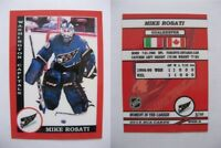 2015 SCA Mike Rosati washington capitals goalie never issued produced #d/10