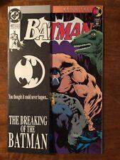 DC COMICS BATMAN #497 1993 - BANE BREAKS BATMAN'S BACK.