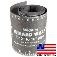 "Flange Wizard WW-17 Medium Wrap 60"" Long x 3-7/8"" Wide, Pipe 2"" to 16"" Diameter"