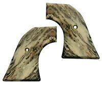 Matte Faux Marble Custom Ruger Revolver Grips Vaquero Blackhawk Wrangler