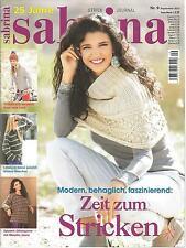 sabrina Strickjournal,  September 2013,  Heft 09/2013,  unbenützt