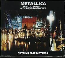 Nothing Else Matters by Metallica | CD | condition good