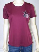 SPORT TEK Red Burgundy Short Sleeve Mighty Mathis Pirate Band Graphic T-Shirt M