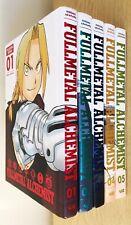 More details for fullmetal alchemist: fullmetal edition hardcover manga set • volumes. 1-5