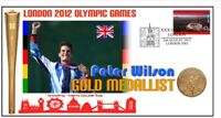 PETER WILSON 2012 OLYMPIC SHOOTING GOLD MEDAL COVER