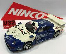 Ninco 50208 Porsche 911 GT1 #33 Schubel Excellent Etat Boite Ouverte